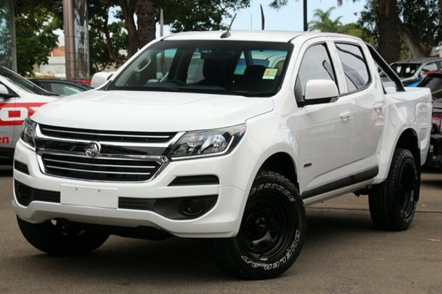 Demonstrator, Demo, Near New Holden Colorado LS Pickup Crew Cab, Brookvale, 2018 Holden Colorado LS Pickup Crew Cab Utility