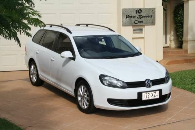 Discounted Used Volkswagen Golf 90TSI DSG Trendline, Bundall, 2012 Volkswagen Golf 90TSI DSG Trendline VI MY12.5 Wagon