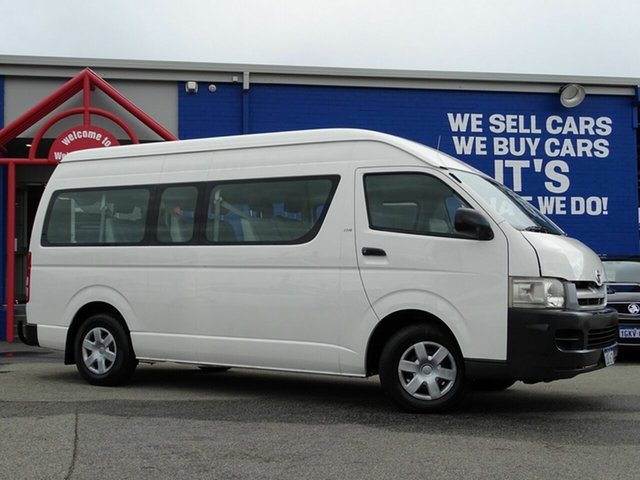 Used Toyota Hiace Commuter High Roof Super LWB, Welshpool, 2005 Toyota Hiace Commuter High Roof Super LWB Bus