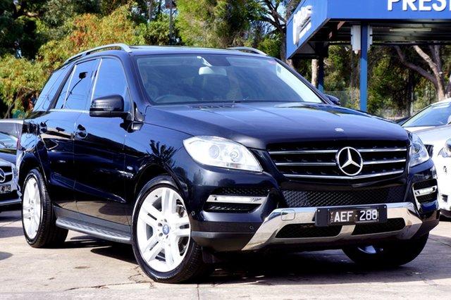 Used Mercedes-Benz ML250 BlueTEC 7G-Tronic +, Balwyn, 2012 Mercedes-Benz ML250 BlueTEC 7G-Tronic + Wagon