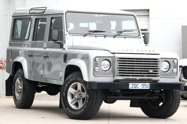 Discounted Used Land Rover Defender, Gardenvale, 2012 Land Rover Defender Wagon