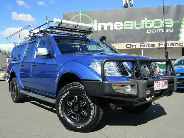 Used Nissan Navara ST (4x4), Loganholme, 2012 Nissan Navara ST (4x4) Dual Cab Pick-up