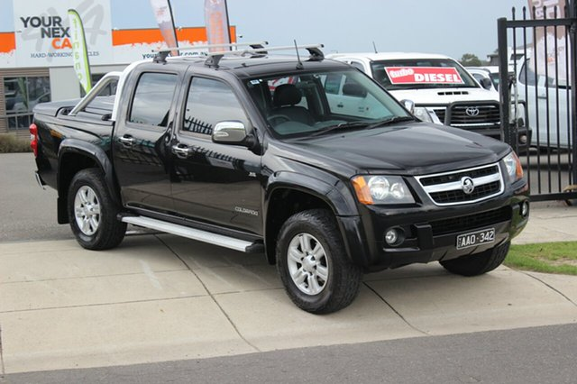 Used Holden Colorado LT-R Crew Cab, Officer, 2010 Holden Colorado LT-R Crew Cab Utility