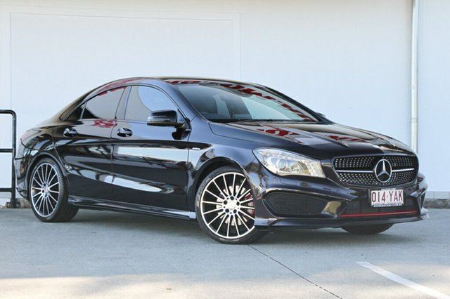 Used Mercedes-Benz CLA250 Sport DCT 4MATIC, Moorooka, Brisbane, 2015 Mercedes-Benz CLA250 Sport DCT 4MATIC Coupe
