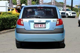 2010 Hyundai Getz SX Hatchback.