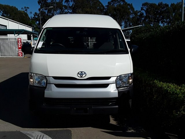 Used Toyota Hiace Commuter High Roof Super LWB, Acacia Ridge, 2015 Toyota Hiace Commuter High Roof Super LWB TRH223R Bus