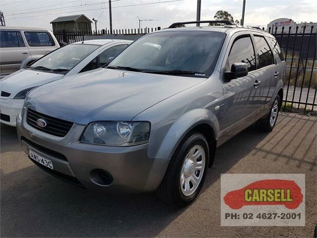 Used Ford Territory TS 7 seater, Campbelltown, 2005 Ford Territory TS 7 seater Wagon