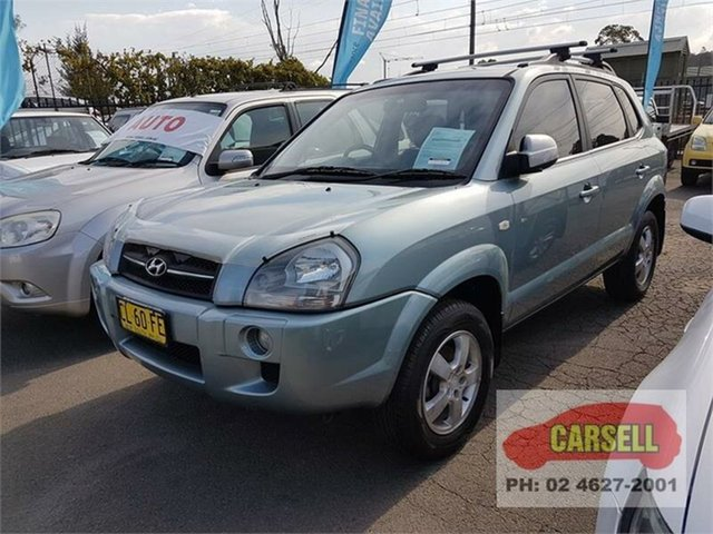 Used Hyundai Tucson City, Campbelltown, 2007 Hyundai Tucson City Wagon