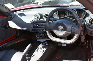 2017 Alfa Romeo 4C Spider TCT Targa.