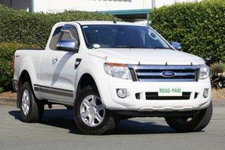 Used Ford Ranger XLT Super Cab 4x2 Hi-Rider, Acacia Ridge, 2014 Ford Ranger XLT Super Cab 4x2 Hi-Rider PX Utility