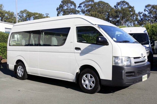 Used Toyota Hiace Commuter High Roof Super LWB, Acacia Ridge, 2007 Toyota Hiace Commuter High Roof Super LWB TRH223R Bus