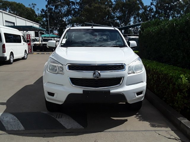 Used Holden Colorado LX Crew Cab, Acacia Ridge, 2013 Holden Colorado LX Crew Cab RG MY13 Utility