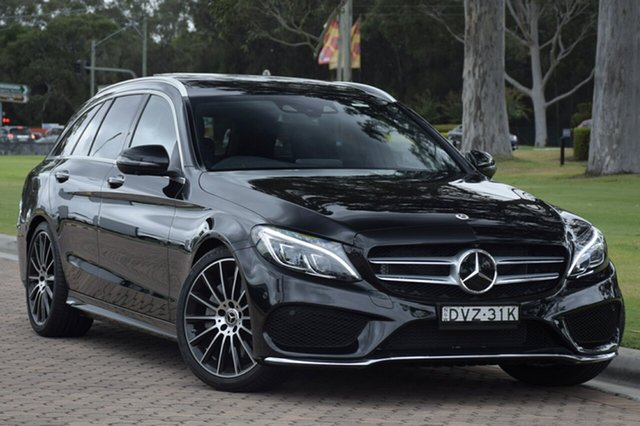 Demonstrator, Demo, Near New Mercedes-Benz C300 Estate 9G-TRONIC, Southport, 2017 Mercedes-Benz C300 Estate 9G-TRONIC Wagon