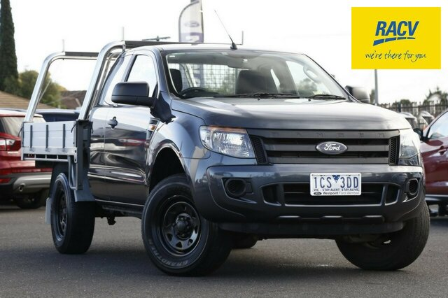 Used Ford Ranger XL Super Cab 4x2 Hi-Rider, Hoppers Crossing, 2014 Ford Ranger XL Super Cab 4x2 Hi-Rider Cab Chassis