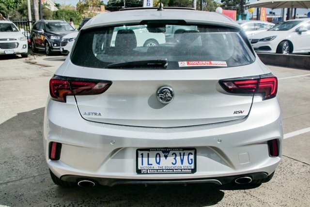 Demonstrator, Demo, Near New Holden Astra RS-V, Oakleigh, 2017 Holden Astra RS-V BK MY17.5 Hatchback