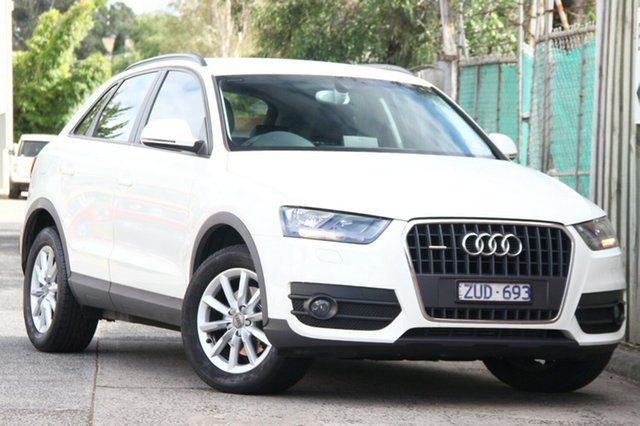 Discounted Used Audi Q3 TFSI S tronic quattro, Clayton, 2013 Audi Q3 TFSI S tronic quattro Wagon