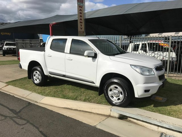 Used Holden Colorado LS (4x2), Toowoomba, 2015 Holden Colorado LS (4x2) Crew Cab Pickup