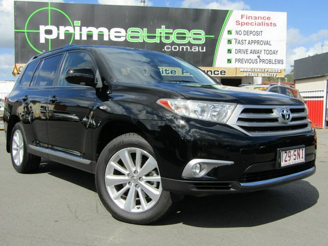 Used Toyota Kluger Altitude (FWD) 7 Seat, Loganholme, 2012 Toyota Kluger Altitude (FWD) 7 Seat Wagon