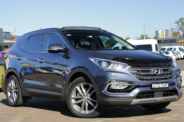 Discounted Demonstrator, Demo, Near New Hyundai Santa Fe Highlander, Southport, 2017 Hyundai Santa Fe Highlander SUV
