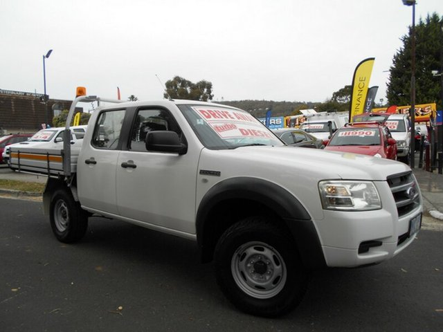 Used Ford Ranger XL (4x2), Upper Ferntree Gully, 2008 Ford Ranger XL (4x2) Dual Cab Pick-up