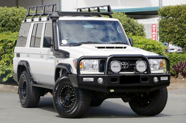 Discounted Used Toyota Landcruiser Workmate (4x4), Acacia Ridge, 2017 Toyota Landcruiser Workmate (4x4) LC70 VDJ76R MY17 Wagon