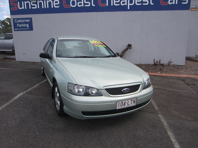 Used Ford Falcon XT, Alexandra Headland, 2003 Ford Falcon XT Sedan
