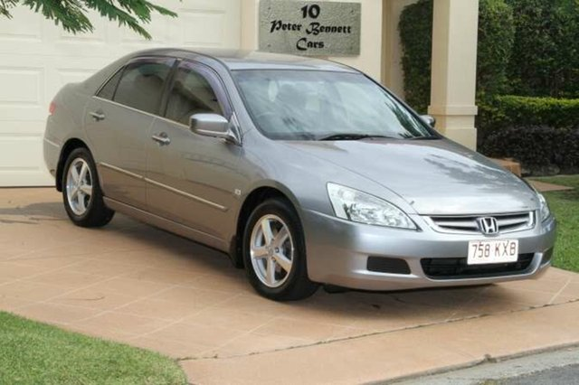 Discounted Used Honda Accord VTi, Bundall, 2005 Honda Accord VTi 7TH GEN Sedan