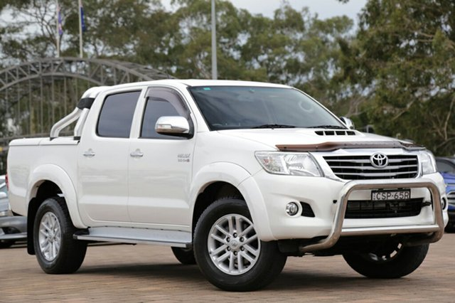 Discounted Used Toyota Hilux SR5 Double Cab, Warwick Farm, 2014 Toyota Hilux SR5 Double Cab Utility