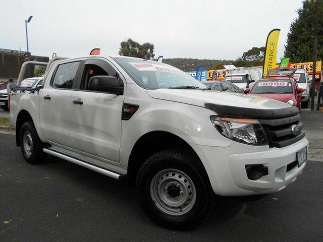 Used Ford Ranger XL 2.2 HI-Rider (4x2), Upper Ferntree Gully, 2013 Ford Ranger XL 2.2 HI-Rider (4x2) Crew Cab Pickup