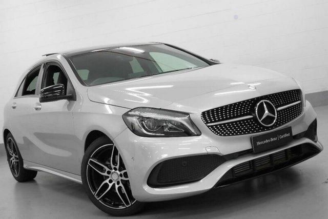 Demonstrator, Demo, Near New Mercedes-Benz A200 d D-CT, Chatswood, 2017 Mercedes-Benz A200 d D-CT Hatchback