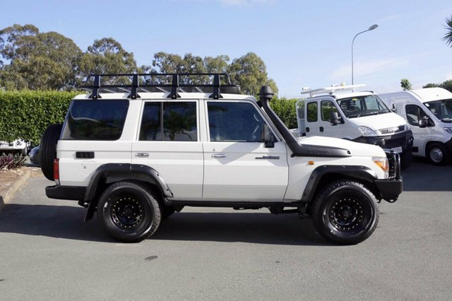 Used Toyota Landcruiser Workmate (4x4), Acacia Ridge, 2017 Toyota Landcruiser Workmate (4x4) LC70 VDJ76R MY17 Wagon
