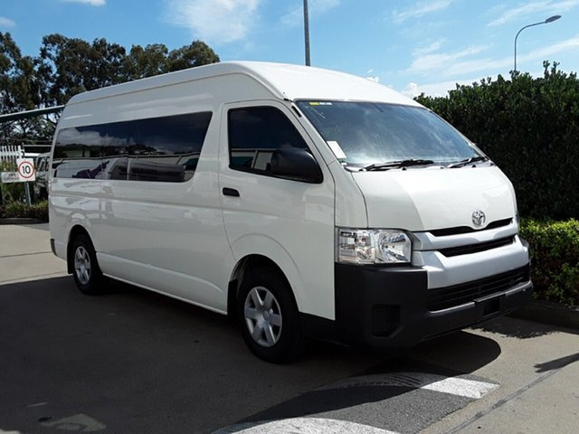 Used Toyota Hiace Commuter High Roof Super LWB, Acacia Ridge, 2016 Toyota Hiace Commuter High Roof Super LWB TRH223R Bus