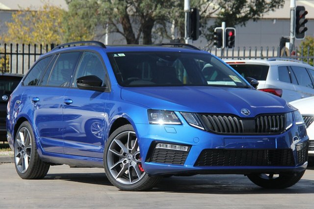 Demonstrator, Demo, Near New Skoda Octavia RS DSG 169TSI, Bowen Hills, 2018 Skoda Octavia RS DSG 169TSI Wagon