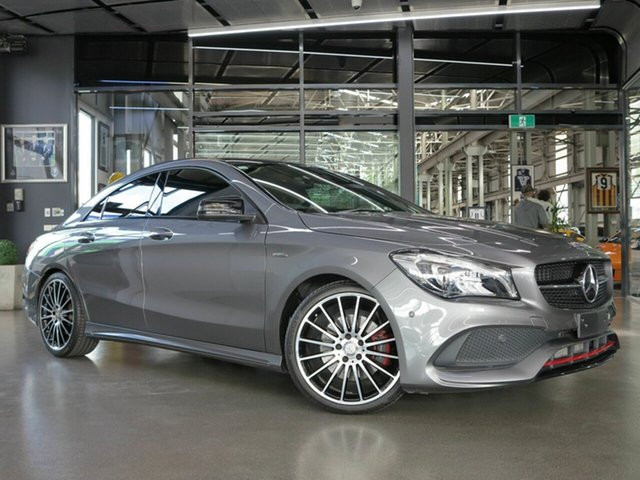 Used Mercedes-Benz CLA250 4Matic, North Melbourne, 2016 Mercedes-Benz CLA250 4Matic Coupe