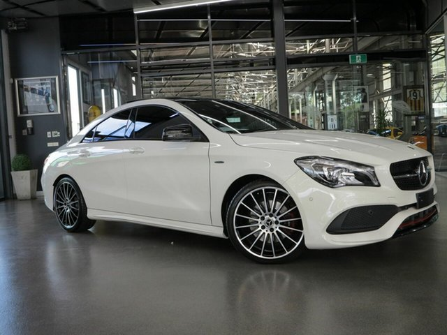 Used Mercedes-Benz CLA 250 Sport 4Matic, North Melbourne, 2017 Mercedes-Benz CLA 250 Sport 4Matic Coupe