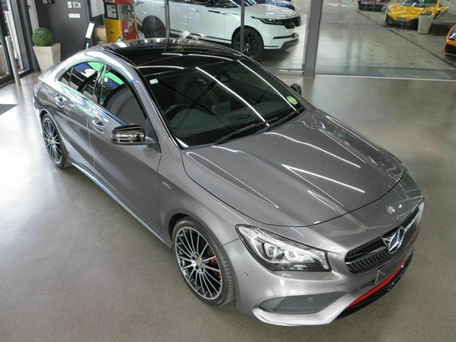 Used Mercedes-Benz CLA250 Sport DCT 4MATIC, North Melbourne, 2016 Mercedes-Benz CLA250 Sport DCT 4MATIC Coupe