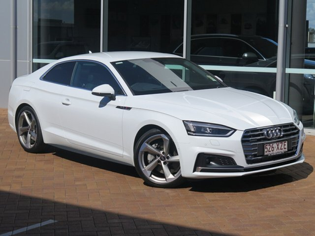 Discounted Demonstrator, Demo, Near New Audi A5 Sport S tronic quattro, Toowoomba, 2017 Audi A5 Sport S tronic quattro Coupe