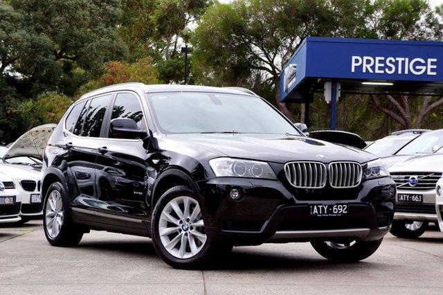 Used BMW X3 xDrive28i Steptronic, Balwyn, 2012 BMW X3 xDrive28i Steptronic Wagon
