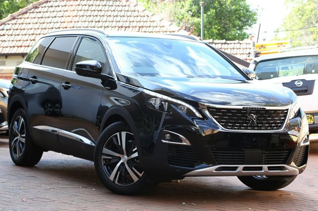 Demonstrator, Demo, Near New Peugeot 5008 GT Line, Bowen Hills, 2017 Peugeot 5008 GT Line Wagon