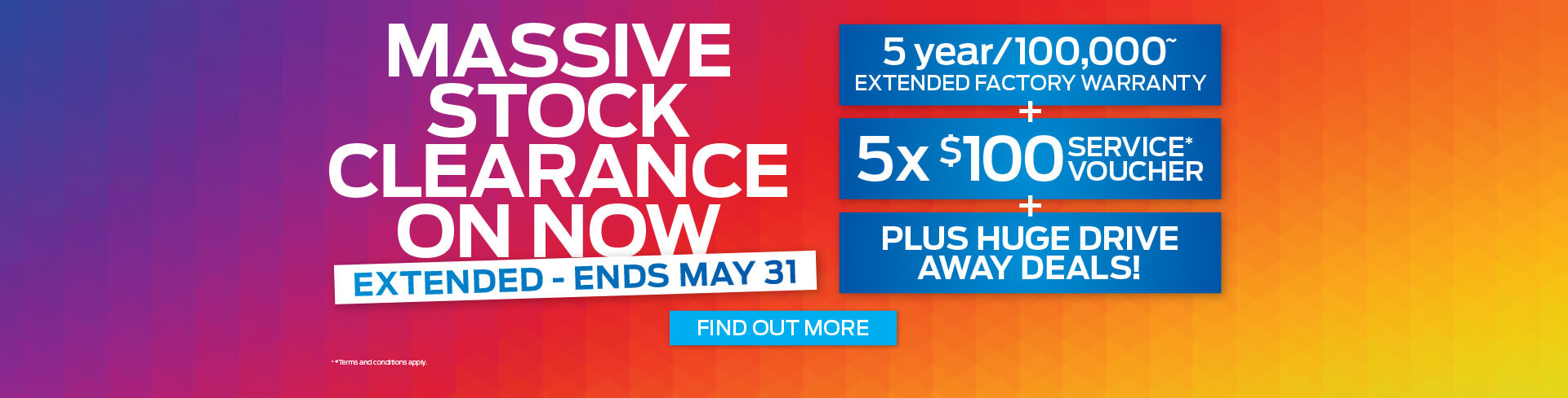 Massive Stock Clearance Event