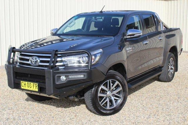Used Toyota Hilux SR5 (4x4), Bathurst, 2016 Toyota Hilux SR5 (4x4) Dual Cab Utility
