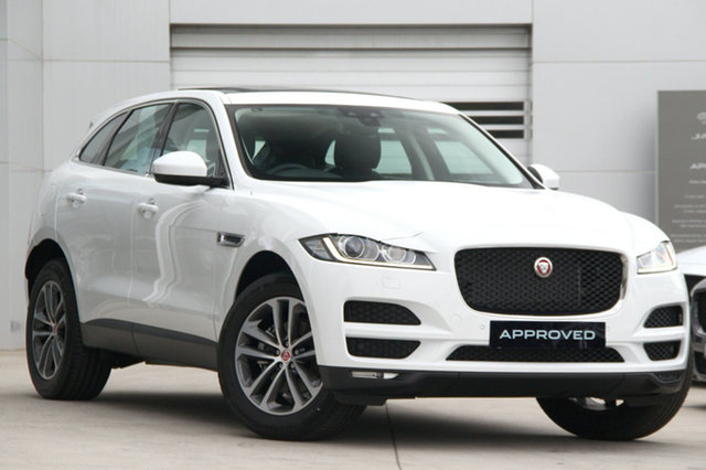 Discounted Demonstrator, Demo, Near New Jaguar F-PACE Prestige, Gardenvale, 2018 Jaguar F-PACE Prestige Wagon