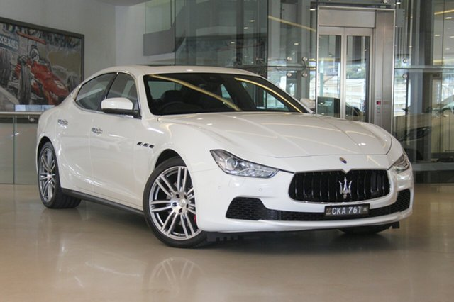 Discounted Used Maserati Ghibli S, Waterloo, 2017 Maserati Ghibli S Sedan