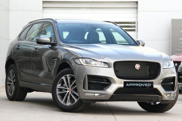 Discounted Demonstrator, Demo, Near New Jaguar F-PACE 25T R-Sport, Gardenvale, 2017 Jaguar F-PACE 25T R-Sport Wagon