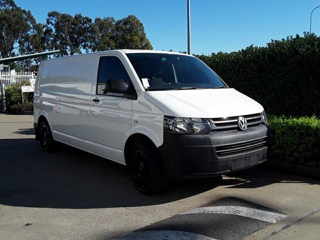 Used Volkswagen Transporter TDI340 LWB DSG, Acacia Ridge, 2014 Volkswagen Transporter TDI340 LWB DSG T5 MY15 Van