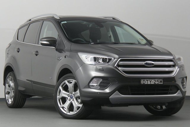 Discounted Demonstrator, Demo, Near New Ford Escape Titanium PwrShift AWD, Southport, 2017 Ford Escape Titanium PwrShift AWD SUV