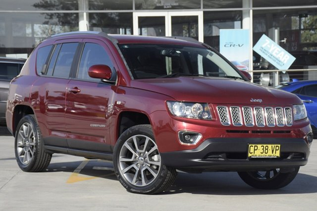 Used Jeep Compass Limited CVT Auto Stick, Narellan, 2013 Jeep Compass Limited CVT Auto Stick SUV