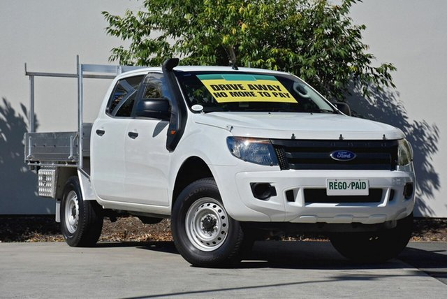 Used Ford Ranger XL Double Cab 4x2 Hi-Rider, Robina, 2012 Ford Ranger XL Double Cab 4x2 Hi-Rider PX Cab Chassis