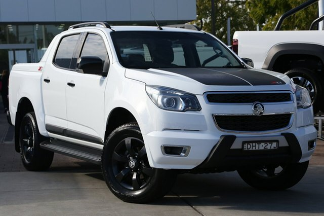 Used Holden Colorado Z71 Crew Cab, Waitara, 2015 Holden Colorado Z71 Crew Cab Utility