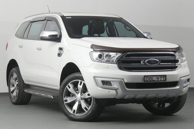 Used Ford Everest Titanium 4WD, Narellan, 2015 Ford Everest Titanium 4WD SUV
